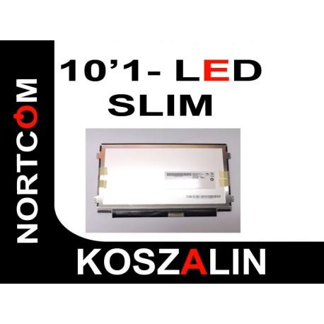 """Matryca LED 10.1"""" B101AW06 Błyszcząca Slim"""