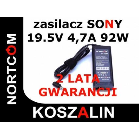 Zasilacz Ładowarka Sony Vaio 19V 90W NORTCOM