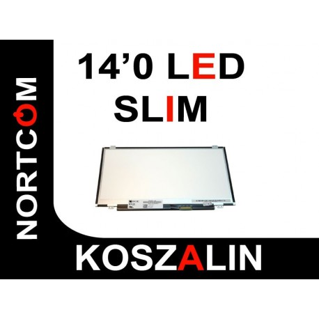 "Matryca LED HB140WX1-500 Slim  Nowa 14"" SONY ASUS ACER i inne"
