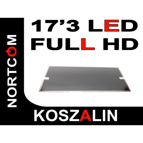 "Matryca LED HD 17,3""  B173HW02 Full HD MATOWA"